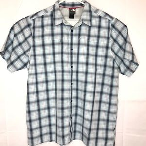 The North Face Button Down Plaid Shirt XL Men's